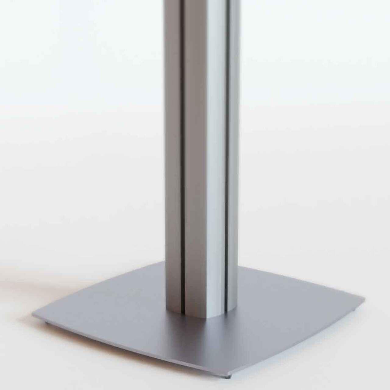 Urnă plexiglas transparent. cu picior, JJ DISPLAYS, dimensiuni la cerere
