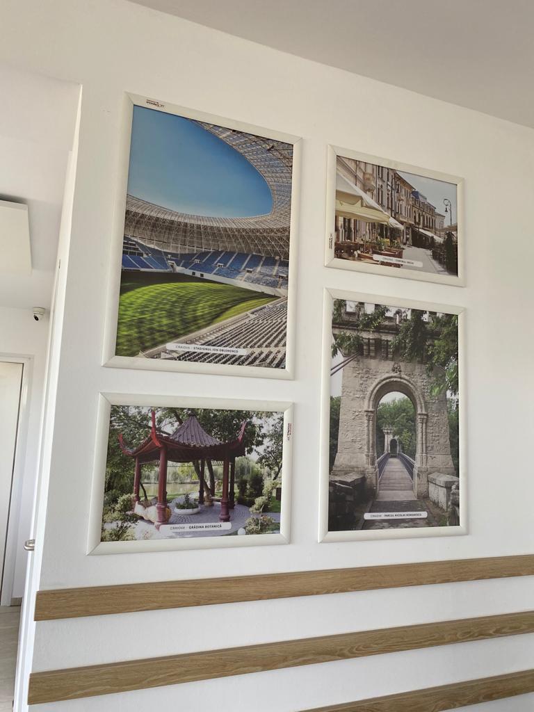 Ramă click 25, Poster Frame din aluminiu, cu colțuri drepte S5, JJ DISPLAYS, 500 x 700 mm