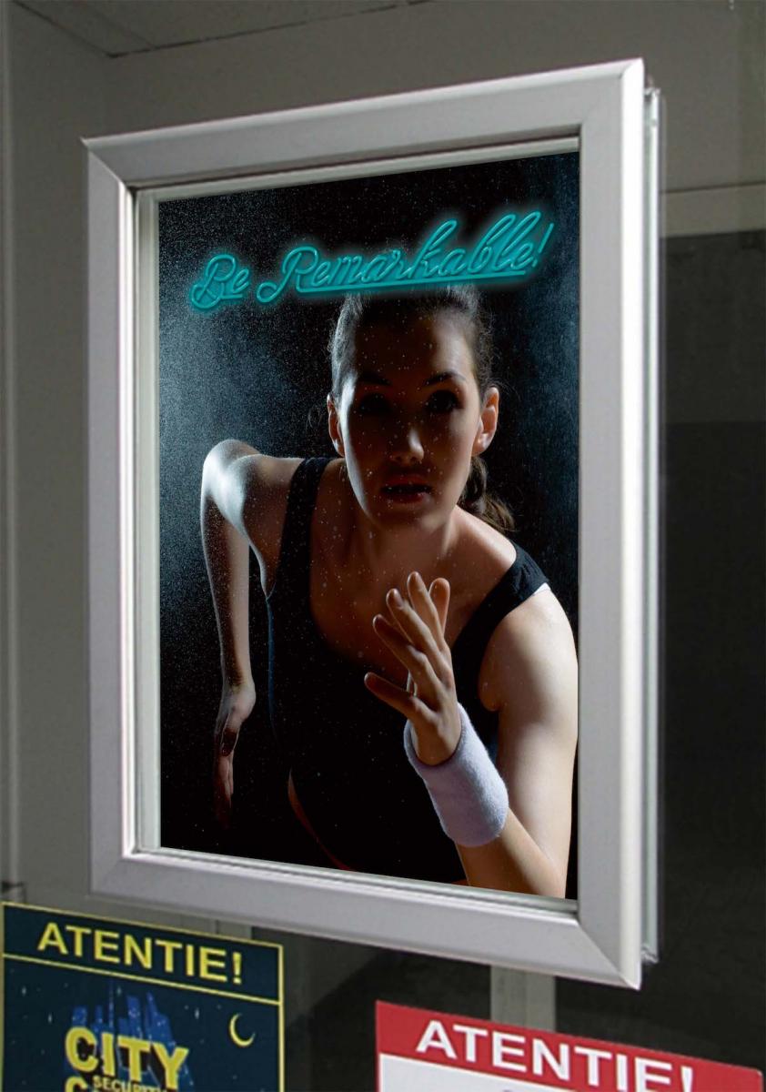 Window Frame 32 A1, JJ DISPLAYS, 594 x 841 mm