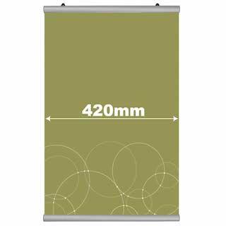 Poster Hanger Click, JJ DISPLAYS, 420 mm