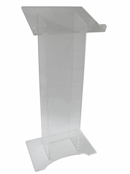 Pupitru plexiglas, 10 mm, JJ DISPLAYS