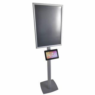 Infoboard SF SL, cu ramă click 25/45 S5 și carcasă din plexiglas, JJ DISPLAYS