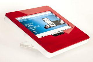 Suport tabletă securizată, de masă, din plexiglas, diverse culori, JJ DISPLAYS