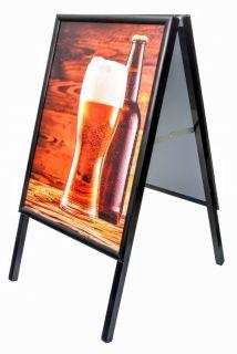 People stopper negru A2, JJ DISPLAYS, 420 x 594 mm