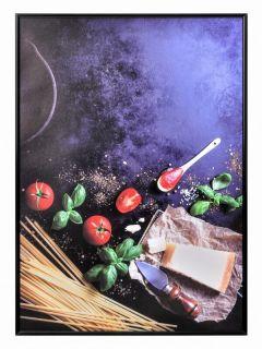 Rama de tablou neagră, din aluminiu A4, JJ DISPLAYS, 210 x 297 mm