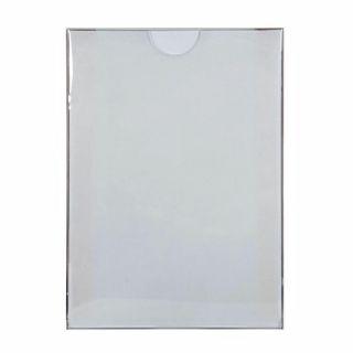 Insert tip plic, transparent A5, JJ DISPLAYS, 148 x 210 mm, Portrait