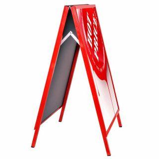 People Stopper roșu A2, JJ DISPLAYS, 420 x 594 mm