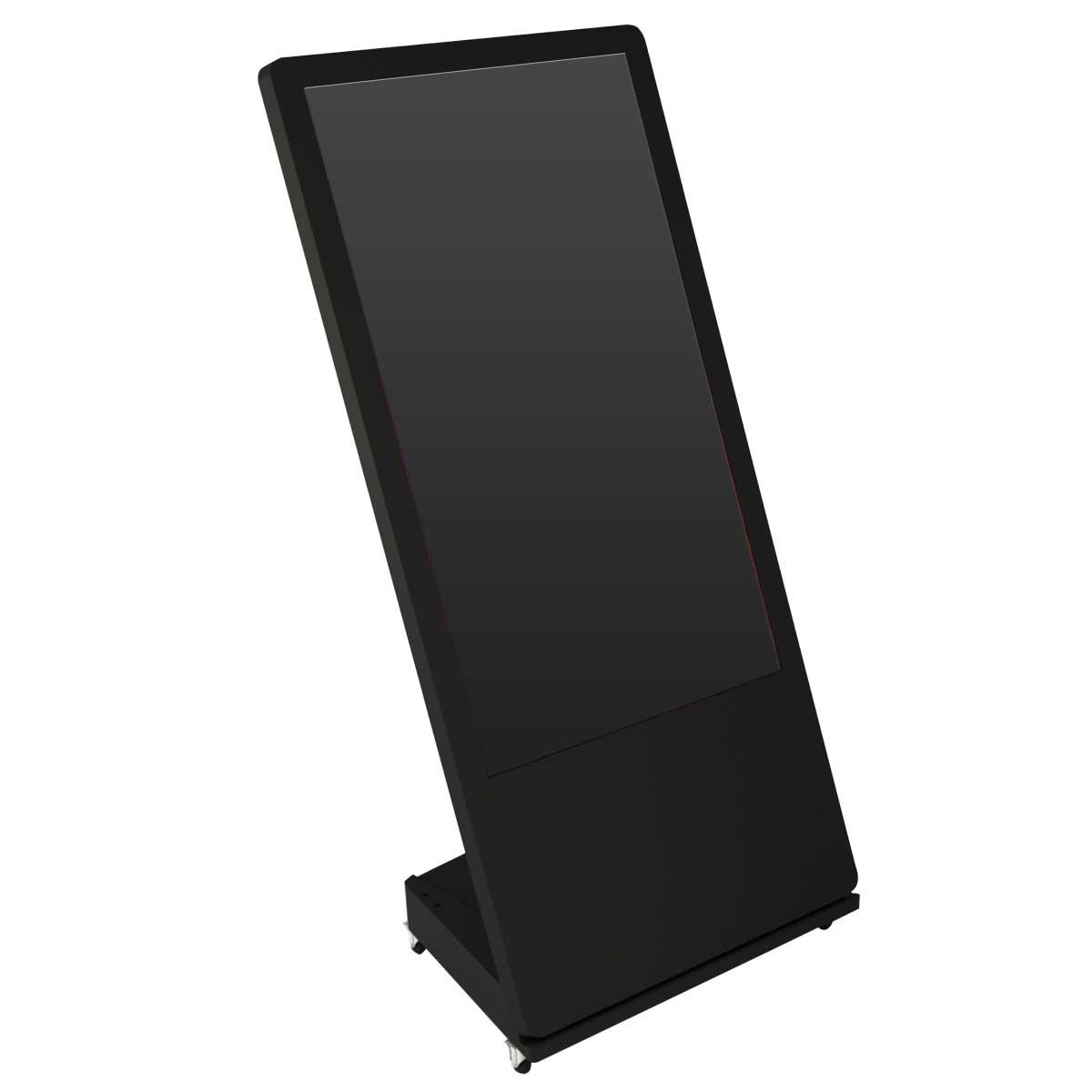 Stand L cu ecran 4K, 32 inch, JJ DISPLAYS