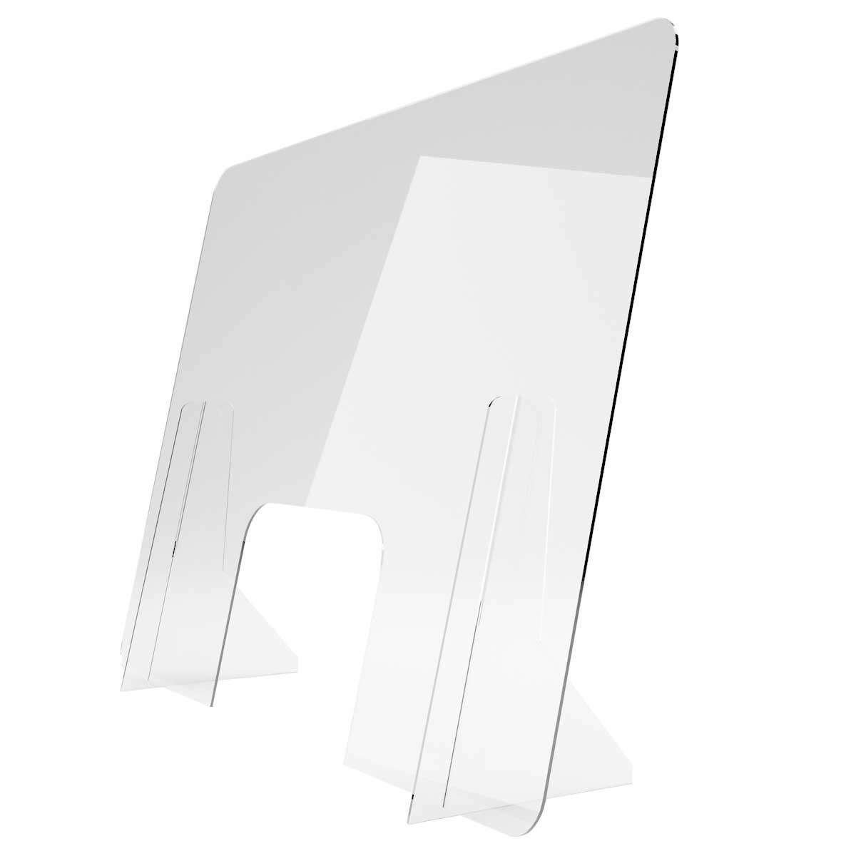 Protecție plexiglas, demontabilă, pentru casieri, JJ DISPLAYS, dimensiuni la cerere