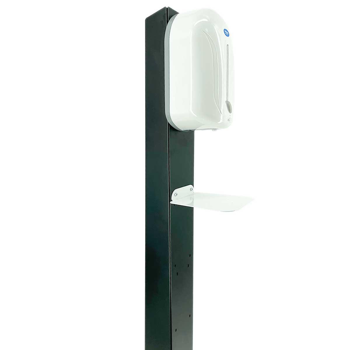 Stativ metalic pentru dezinfectare mâini cu dozator automat, JJ DISPLAYS
