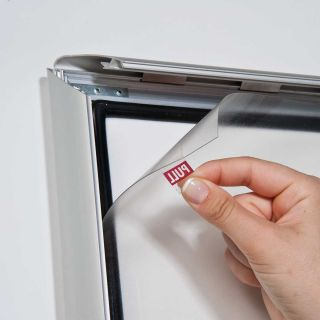 Avizier securizat cu NANO display, cu ramă care se poate expune și la exterior A4, JJ DISPLAYS, 210 x 297 mm, Portrait