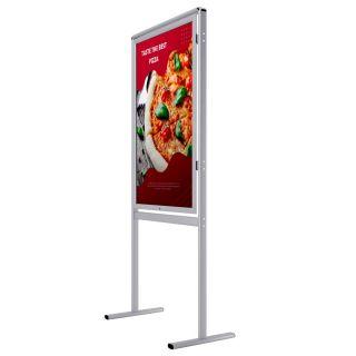 Infoboard clasic cu ramă securizată  S5, JJ DISPLAYS, 500 x 700 mm, simplă față