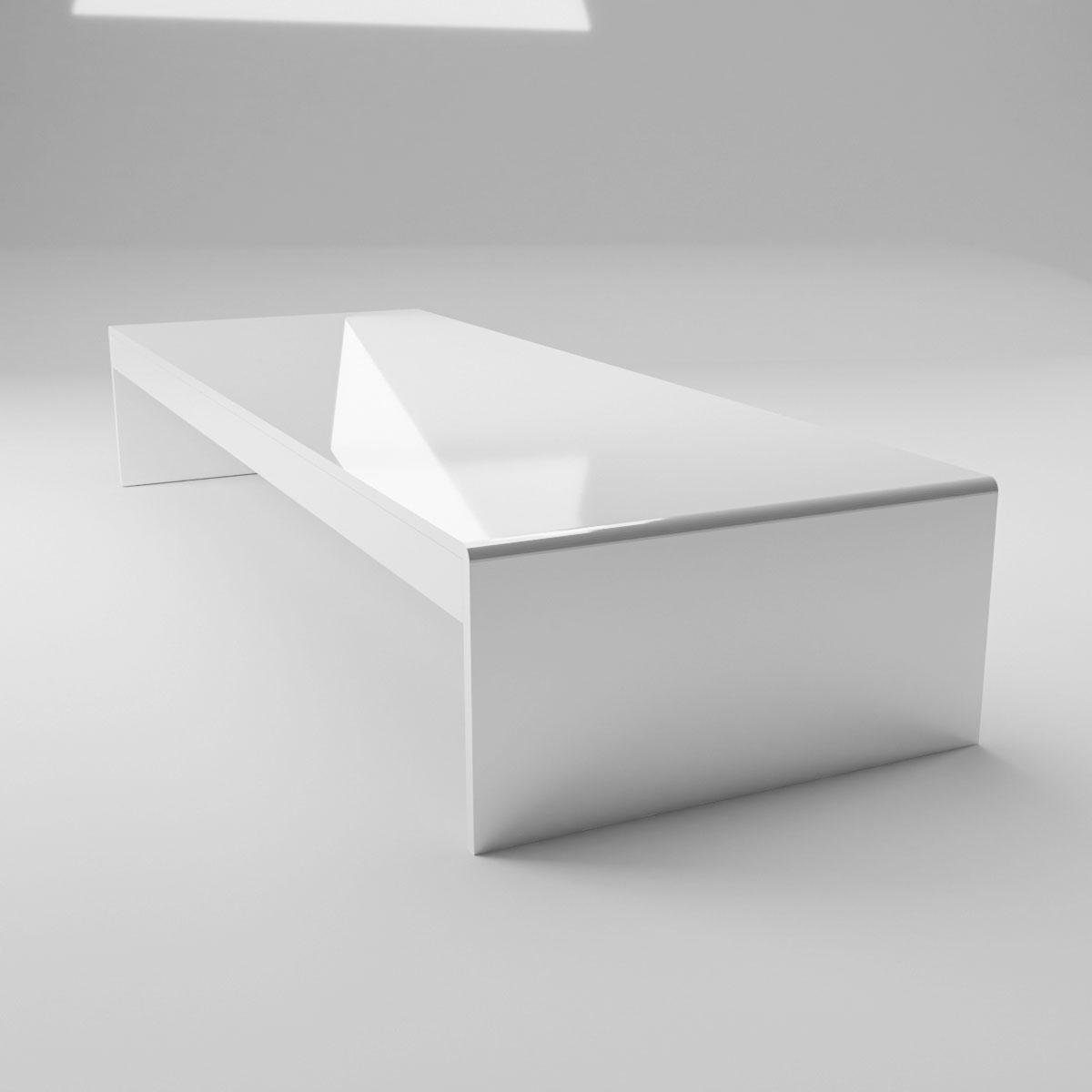 Suport alb pentru monitor, JJ DISPLAYS