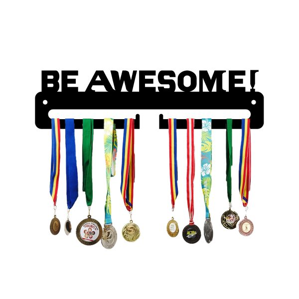 Suport medalii metalic BE AWESOME, JJ DISPLAYS
