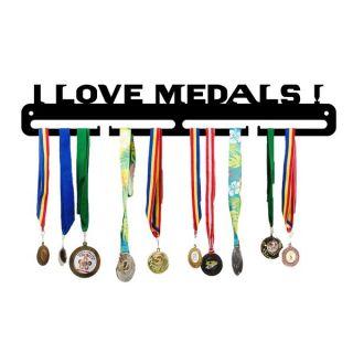 Suport medalii metalic I LOVE MEDALS, JJ DISPLAYS