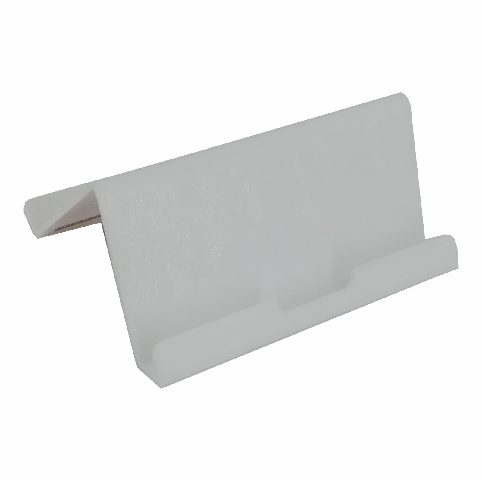 Suport expunere tableta sau ebook din stiplex alb, JJ DISPLAYS