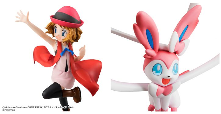 G E M  series Pocket Monsters Serena and Sylveon releasing April