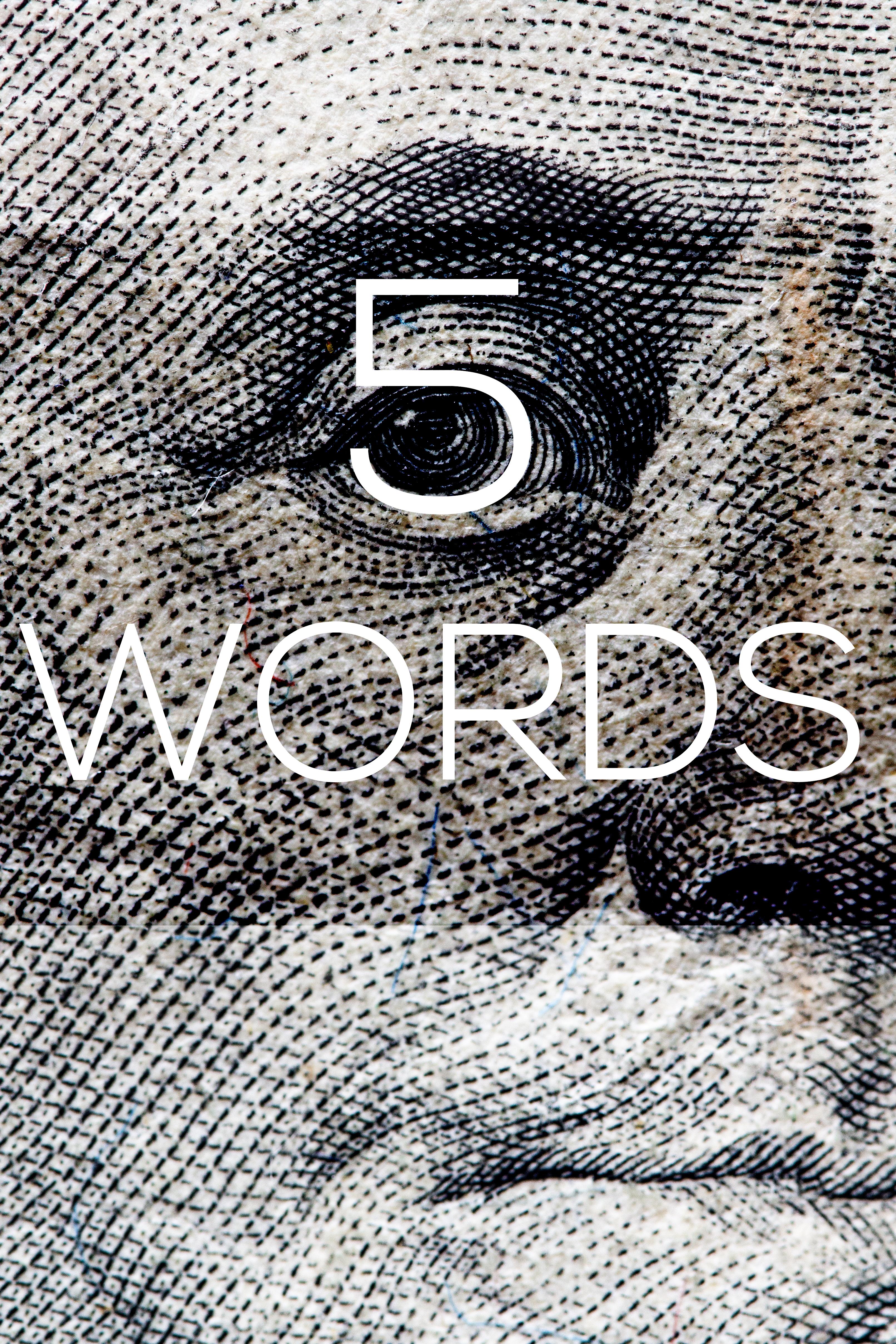 Five Words jobs