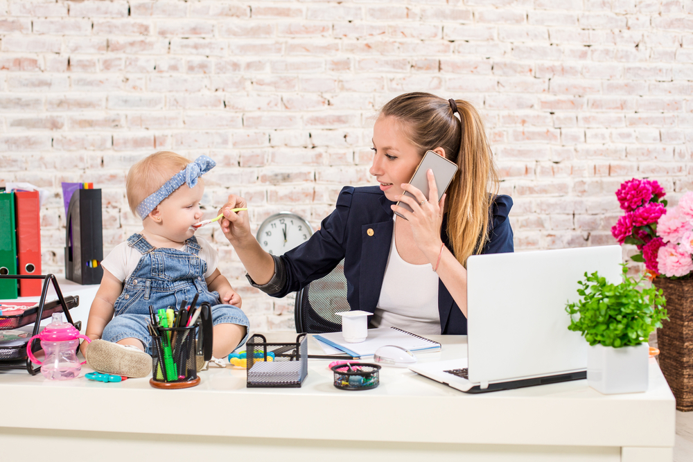 mother-performing-work-from-home