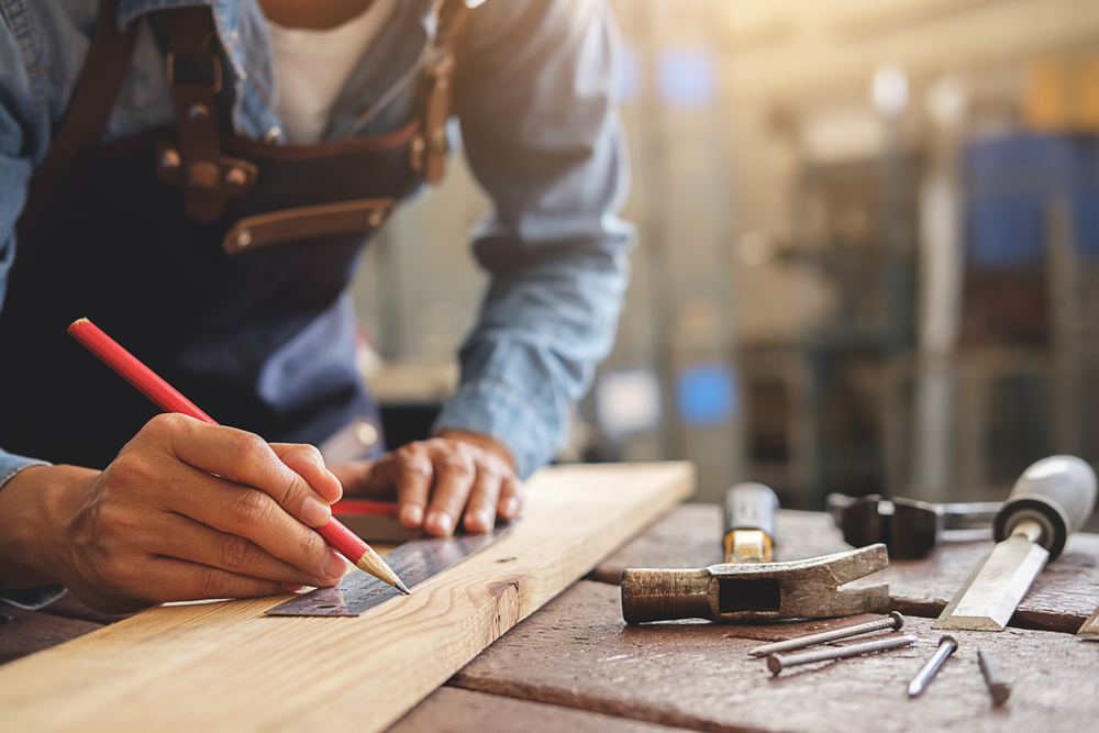 man-doing-carpentry