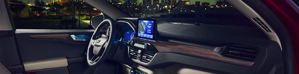 New Ford Escape Interior