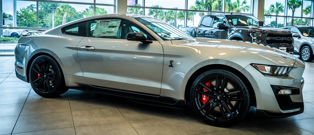 new Ford Mustang