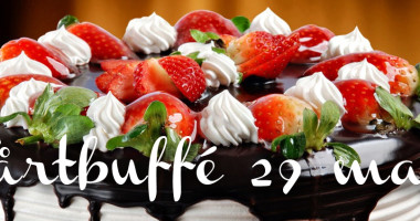 Fira mor med tårtbuffé i Jonsboda den 29 maj mellan 11 och 16.