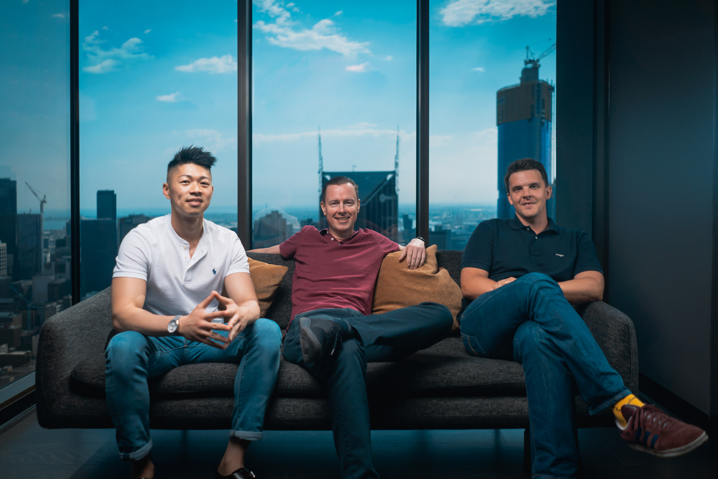 Eric Chin (above, left; photo credit: Lawrence Loque) has consulted to the legal industry for nearly a decade, first at renowned consulting firm Beaton, and now with his new firm, Alpha Creates.
