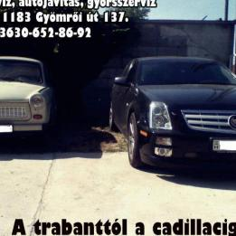 Autószerviz Amerikai Autóvillamosság Budapest - XVII. kerület Budapest - XVIII. kerület