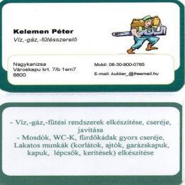 Kelemen Péter -  - Nagykanizsa