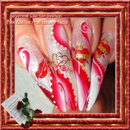 Györené Csertán Gyöngyi / Pink Cadillac Professional Nails Műköröm Pomáz Veresegyház