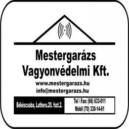 Mestergarázs Vagyonvédelmi Kft Kaputelefon szerelés Gyula Békéscsaba