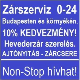Zárszerviz Non-Stop Budapest Lakatos Etyek Budapest - XII. kerület