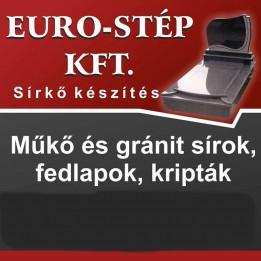 EURO-STÉP Kft. Sírkő Onga Ózd