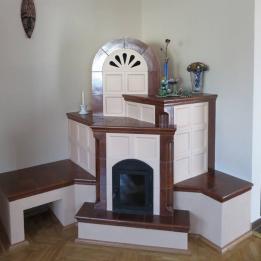 Keraterv - handmade- Pécs Bt. Cserépkályha Homorúd Pogány