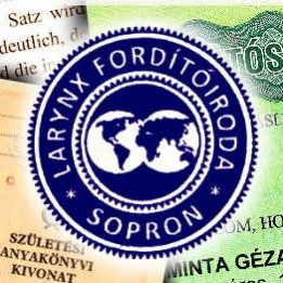 Larynx Sopron Fordítóiroda Tolmács, fordító Répceszemere Sopron