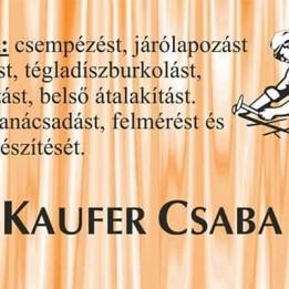 Kaufer Csaba -  - Mosonmagyaróvár