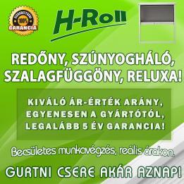 H-Roll Árnyékolástechnika és Redőnyjavítás - Hanol Krisztián Redőny javítás Táborfalva Dunaújváros
