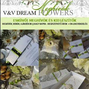 Dream Flowers Esküvői Meghívók Dekoráció Miskolc Debrecen
