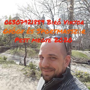 Biró Viktor Gyógymasszázs Budapest - X. kerület Veresegyház