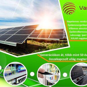 Vareha Energie Kft Napelem, napkollektor Mezőkövesd Nyíregyháza