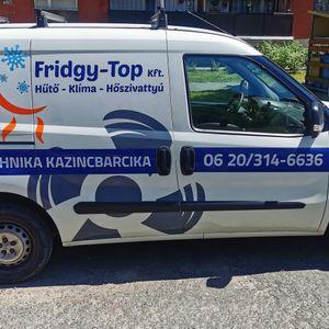 Fridgy-Top Kft. / Fábián Márton Épületgépészet Szerencs Kazincbarcika