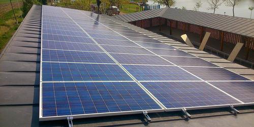 Korcolt lemeztető napelem rendszer