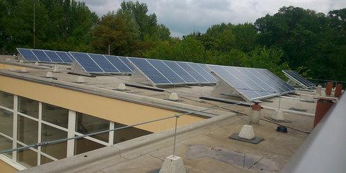 50kW-os napelem rendszer síktetőre