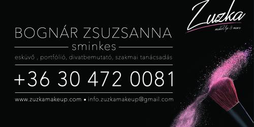 Zuzka Makeup - logó, design, grafika, web, fotó