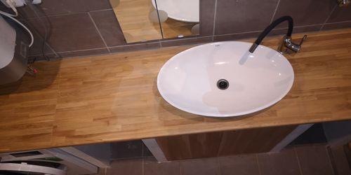 Fürdő szoba tőlgyből