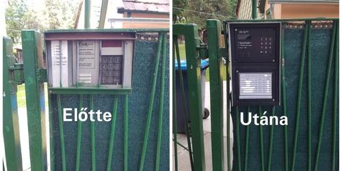 Kaputelefon szerelés Szigetszentmiklós Budapest - XIV. kerület