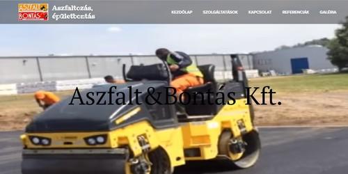 Aszfalt és Bontás Kft. - Varga Károly referencia kép 0