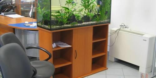 Akvárium bútor