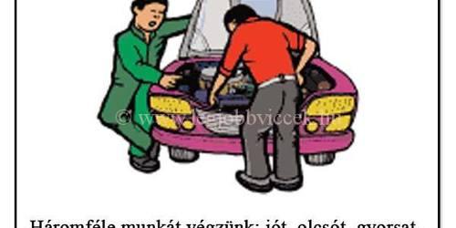 Autószerelő Csabrendek Sümeg